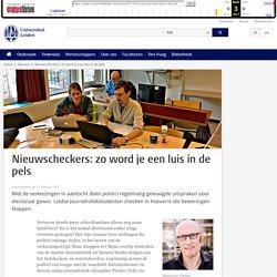 Nieuwscheckers: zo word je een luis in de pels-Universiteit Leiden