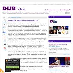 DUB: Nieuwssite Radboud Universiteit op slot