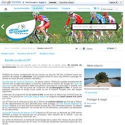 Randonnée vélo, rando VTT, voie verte en Bourgogne dans la Nièvre
