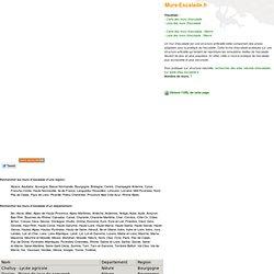 Nievre - Carte des murs d'escalade. Vos murs d'escalade avec Murs-Escalade.fr