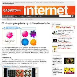 58 niezastąpionych narzędzi dla webmasterów – Lajfmajster.pl