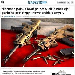 Nieznana polska broń palna: wielkie nadzieje, genialne prototypy i nowatorskie pomysły