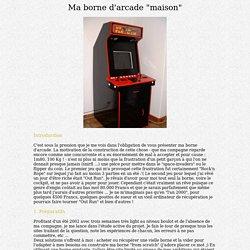Niffo's borne d'arcade
