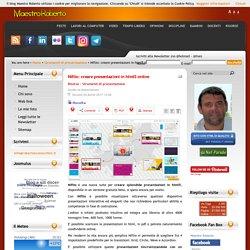 Niftio: creare presentazioni in html5 online