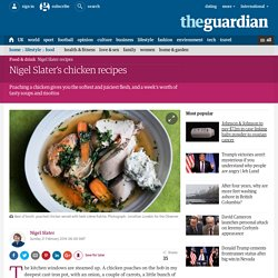 Nigel Slater's chicken recipes