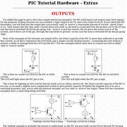 Nigel's PIC Tutorial Hardware Extras