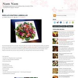 Nigella's asiatiska lammsallad ~ Nam Nam