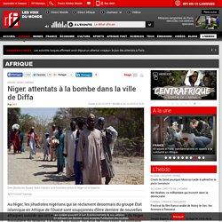 Niger: attentats à la bombe dans la ville de Diffa