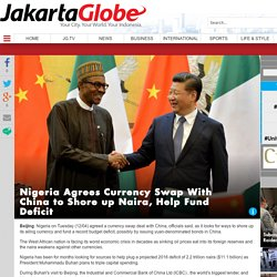 Nigeria Agrees Currency Swap With China to Shore up Naira, Help Fund Deficit