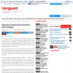 Nigeria's hospitality business hits N562bn