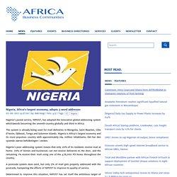 Nigeria, Africa's largest economy, adopts 3 word addresses