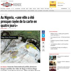 Au Nigeria, «une ville a été presque rayée de la carte en quatre jours»