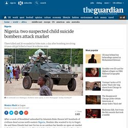 Two suspected child suicide bombers attack Nigerian market