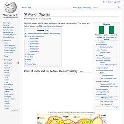 States of Nigeria