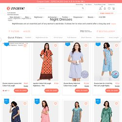 Nighty - Buy Nightwear & Night Dresses For Women Online