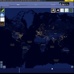 Night Earth - See the Earth at Night from Space!