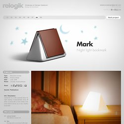 Mark - Night light bookmark.