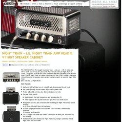 Lil' Night Train Amp Head & V110NT Speaker Cabinet