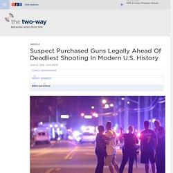 Orlando Nightclub Shooting: At Least 50 People Killed In Deadliest Mass Shooting In U.S. History
