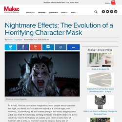 Nightmare Effects: Evolution of a Horrifying Character Mask