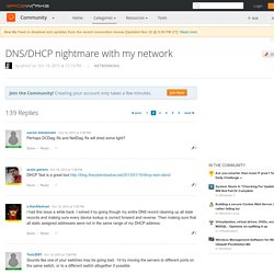 DNS/DHCP nightmare with my network - Spiceworks - Page 2