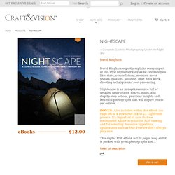 NIGHTSCAPE – Craft & Vision