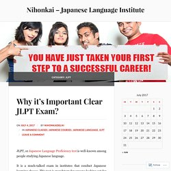 Clear JLPT exam in one go at Nihonkai