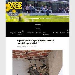 Nijmeegse biologen blij met verbod bestrijdingsmiddel - Vox magazine