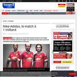 Nike-Adidas, le match à 1milliard