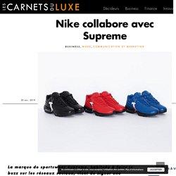 Nike collabore avec Supreme
