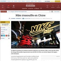Nike s'essouffle en Chine