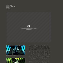 Nike Lab Awards Site