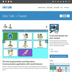 Niki Talk + Tweet - It not only Speaks but also Tweets!
