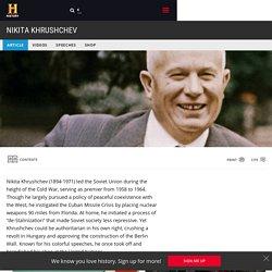 Nikita Khrushchev - Cold War