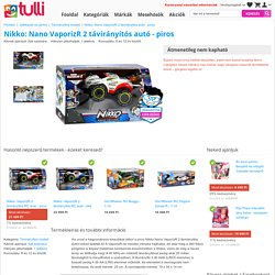 Nikko: Nano VaporizR 2 távirányítós autó - piros - Tulli.hu
