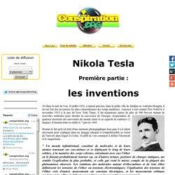Nikola Tesla - 1 - les inventions