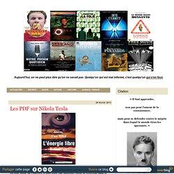 Les PDF sur Nikola Tesla