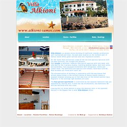 Alkioni Villa - Agios Nikolaos - Limanaki - Studios, Karlovasi, Greece, holidays, greek islands