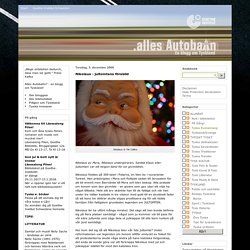 Nikolaus - jultomtens förebild - Alles Autobahn - En blogg om Tyskland
