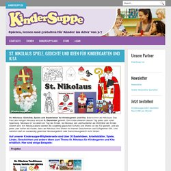 St. Nikolaus Kindergarten und Kita Basteln und Spiel-Ideen
