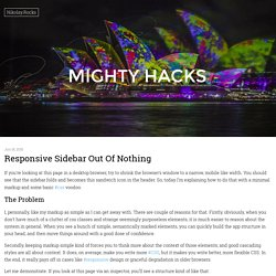 Nikolay.Rocks » Mighty Hacks