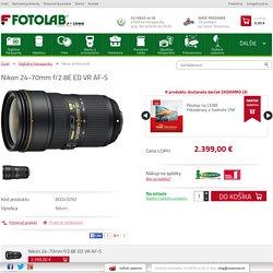 Nikon 24-70mm f/2.8E ED VR AF-S