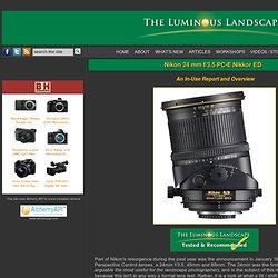 Nikon 24 mm f/3.5 PC-E Nikkor ED