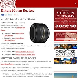 Nikon 50mm Review | For both the f/1.4 and the f/1.8