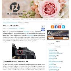 Nikon AE-L / AF-L Button