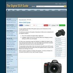 Nikon D40 Guide