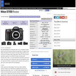 Nikon D7100 Review - D7100 Overview