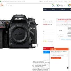 Máy Ảnh Nikon D7500 Body giá rẻ, chính hãng, Trả Góp 0% tại Kyma