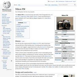 Nikon FM - Wikipedia