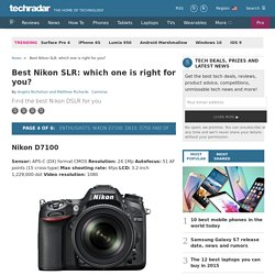 Best Nikon SLR: which one is right for you?: Enthusiasts: Nikon D7100, D610, D750 and Df